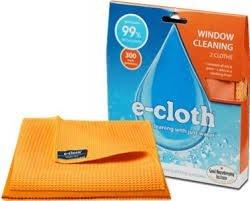 E-cloth Sada hadříků na okna (2 ks) – hadřík na okna a leštící hadřík na sklo