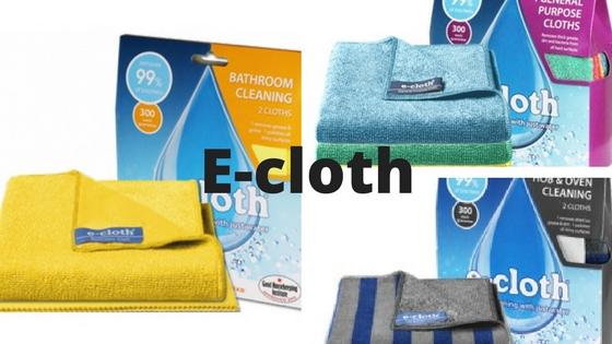 Revoluční hadříky E-cloth