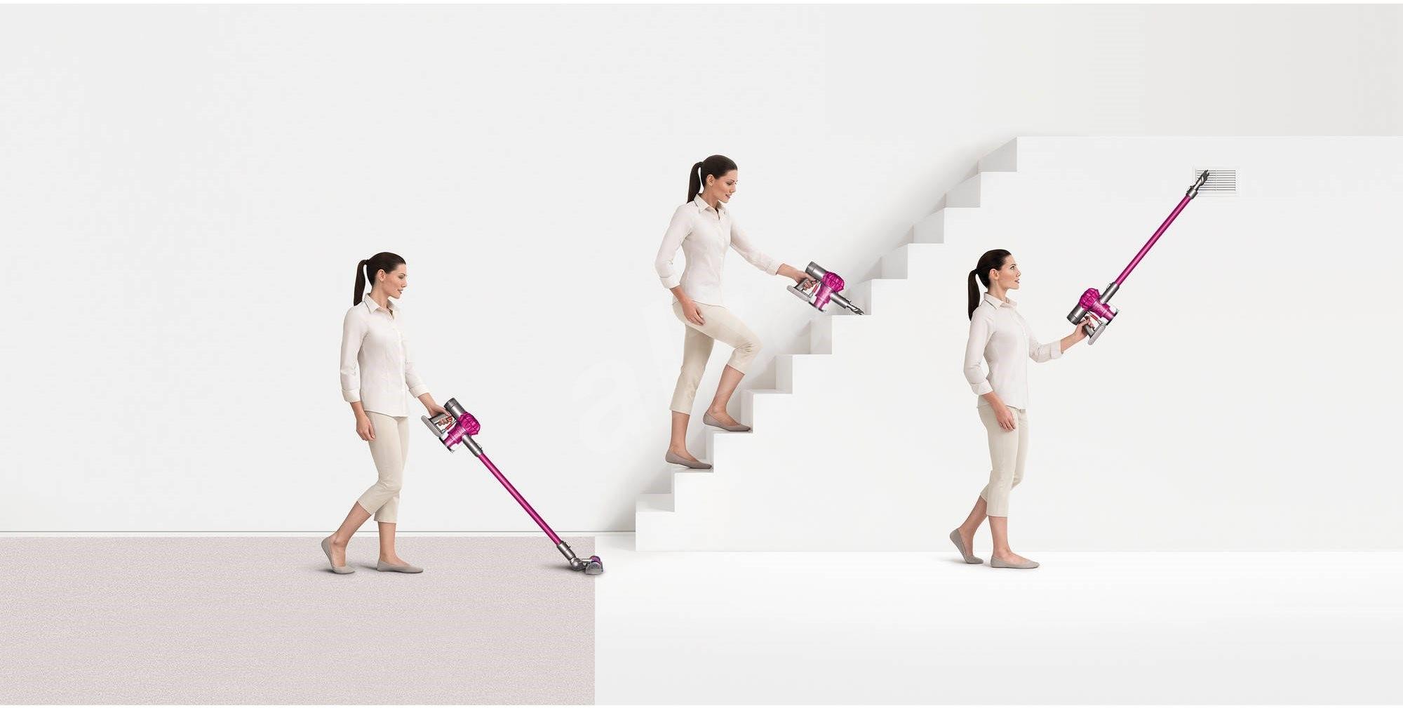 Vysavače Dyson - Vyvážený pro úklid od podlahy po strop