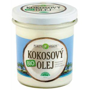 kokosový olej PURITY VISION