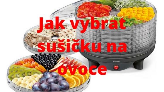 Jak vybrat sušičku na ovoce