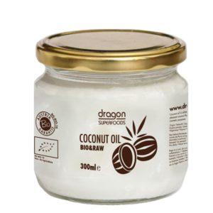 Kokosový olej PANENSKÝ 300 ml DRAGON SUPERFOODS
