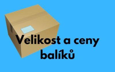 Jak zjistit cenu balíku u České pošty