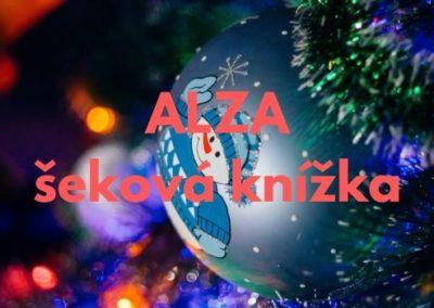 15 000 Kč na vánoční dárky – šeková knížka Alza.cz