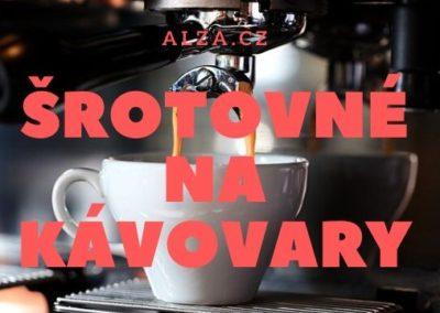 Ušetřete až 5000 Kč se šrotovným na kávovary