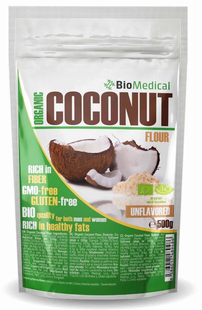 Organic Coconut Flour - Bio kokosová mouka
