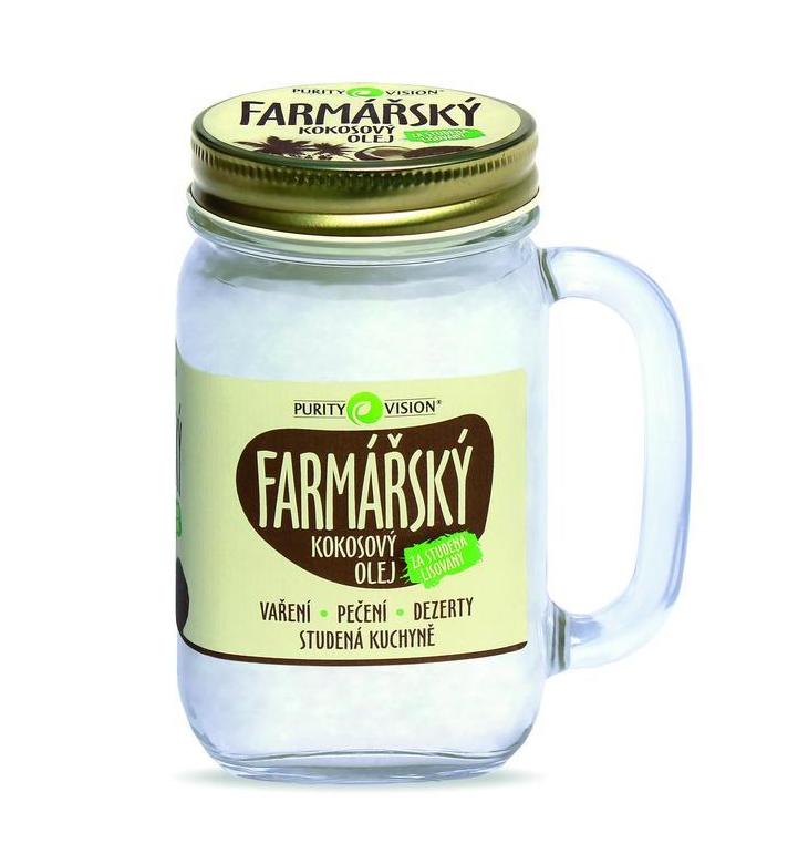 Purity Vision Kokosový olej farmářský