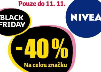Sleva 40 % na značku Nivea