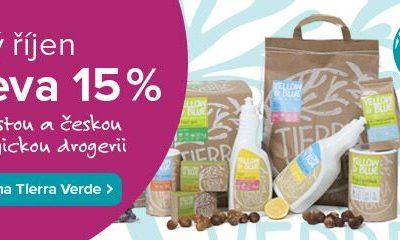 15% sleva na všechny produkty Yellow&Blue (Tierra Verde)