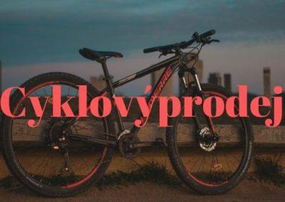 Velký cyklistický výprodej