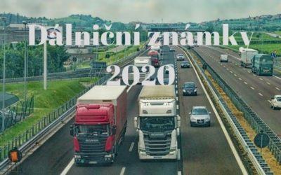 Jaké jsou ceny dálničních známek pro rok 2020
