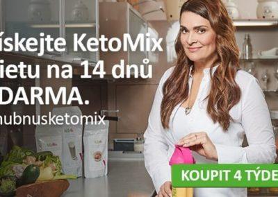 Získejte KetoMix dietu na 14 dnů ZDARMA