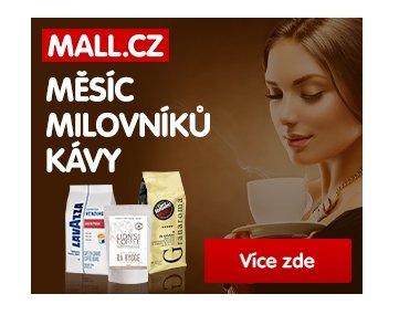 Měsíc milovníků kávy na Mall.cz